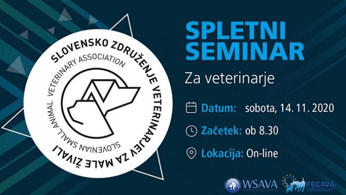 Spletni seminar za veterinarje